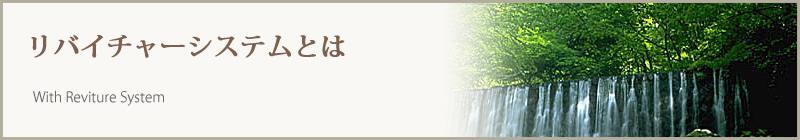 ワタヤ official website :  リバイチャーシステムとは